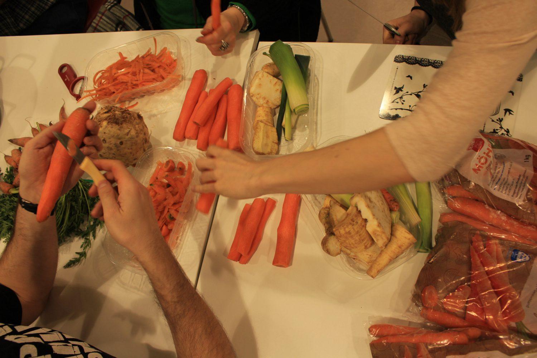 Lebensmittel retten Meet&Eat