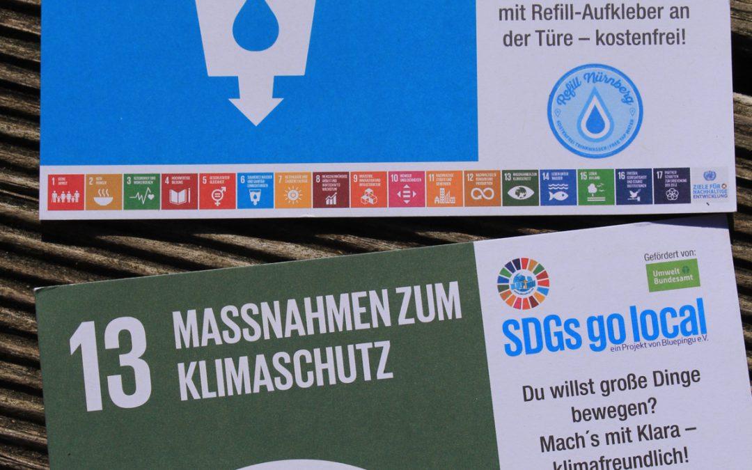 Juhuu, unsere SDG-Postkarten sind da!