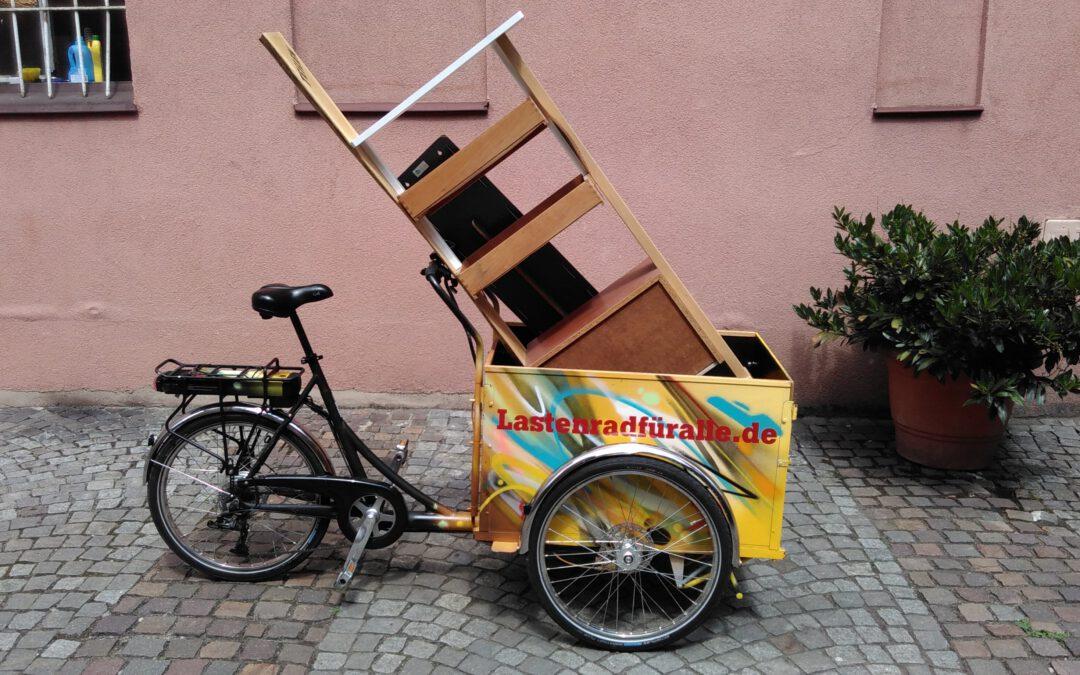 Pressemeldung: Johanna – das kostenlose Lastenrad für Johannis Juni 2020
