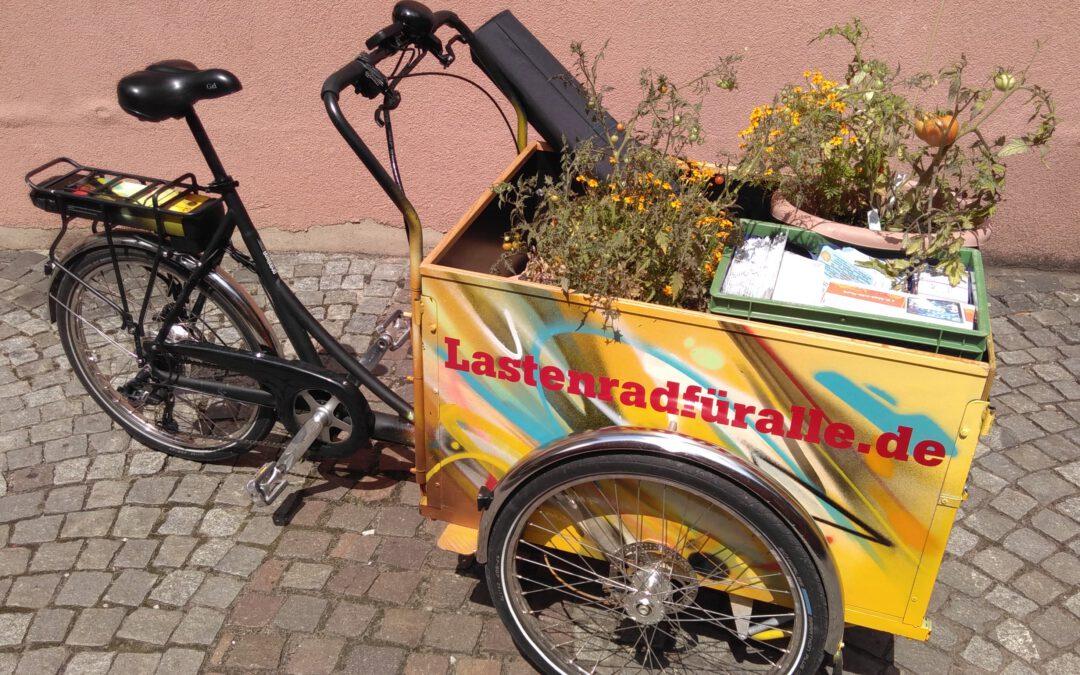 Lastenrad Johanna für St. Johannis – Spendensammelaktion startet!